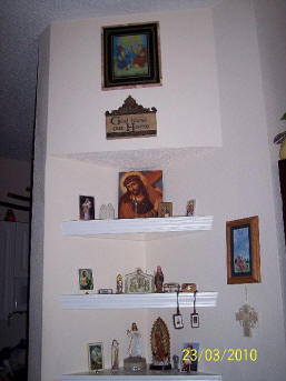 Home Altars, Home Shrines, Prayer Corners